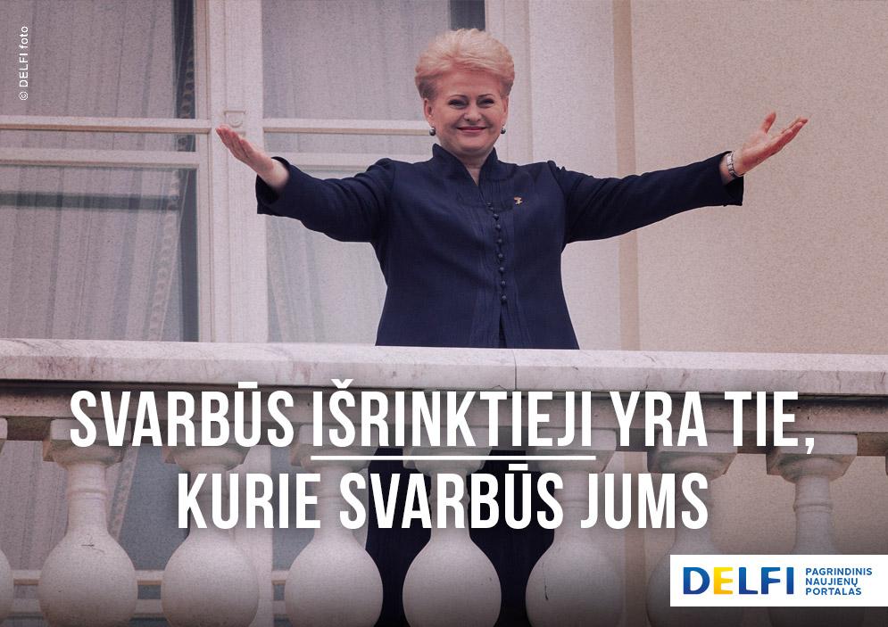 Į pagalbą STT: kaip S.Jasevičiūtė ir D.Grybauskaitė poveikiu prekiavo