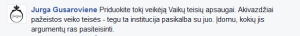 Ji mokėsi žurnalistikos Vilniaus Universitete