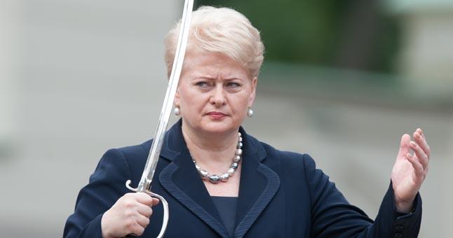 Kokia bus koalicija lems ne Jūsų balsavimas, o tas blizgantis daiktas šiso moters dešinėje rankoje.